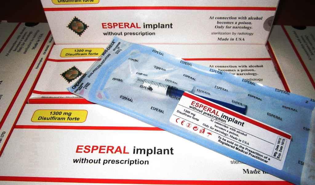 Имплантация препарата Эспераль в Кингисеппе стоимость